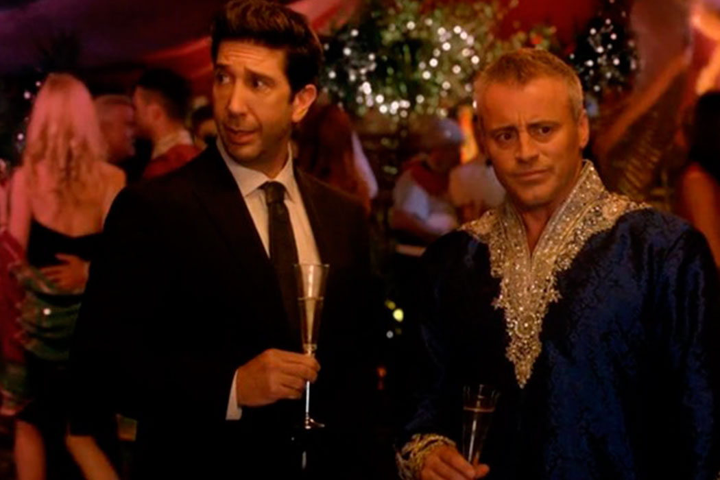 'Episodes' - David Schwimmer y Matt LeBlanc