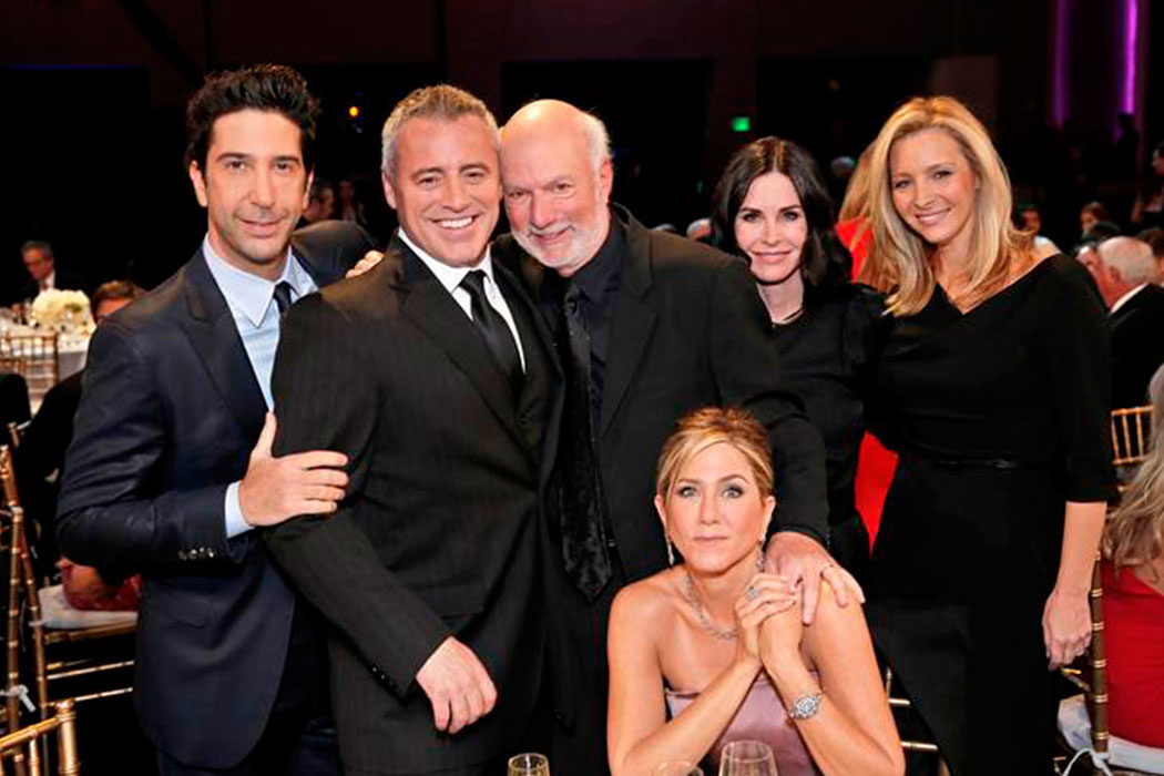 'A Tribute to James Burrows' - Schwimmer, Cox, Kudrow, LeBlanc y Aniston