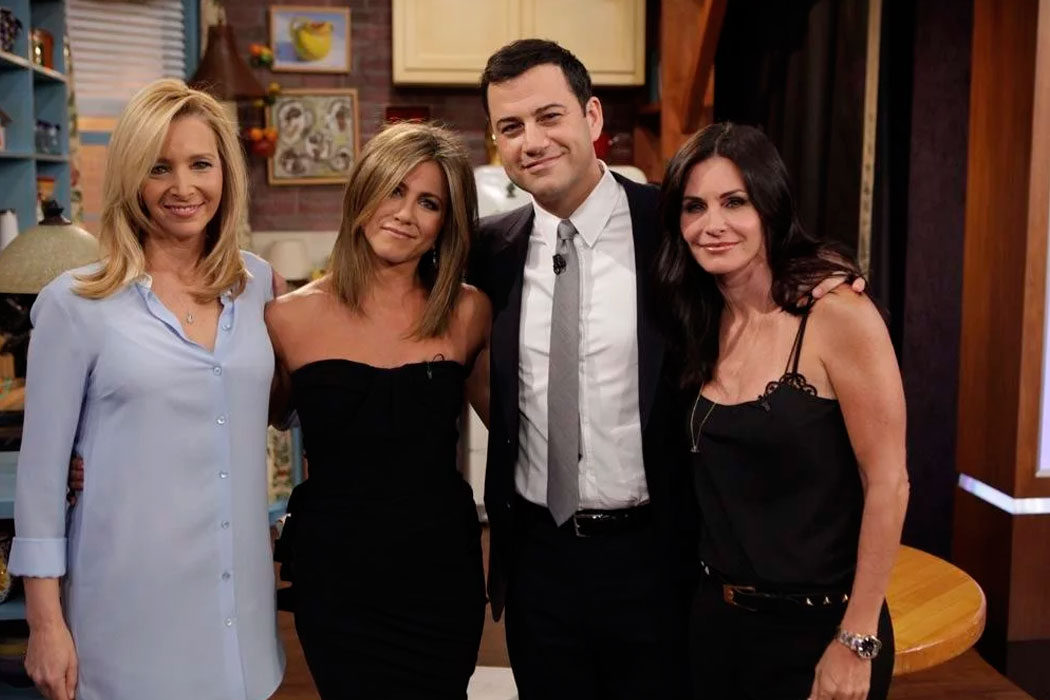 'Jimmy Kimmel Live' - Cox, Kudrow y Aniston