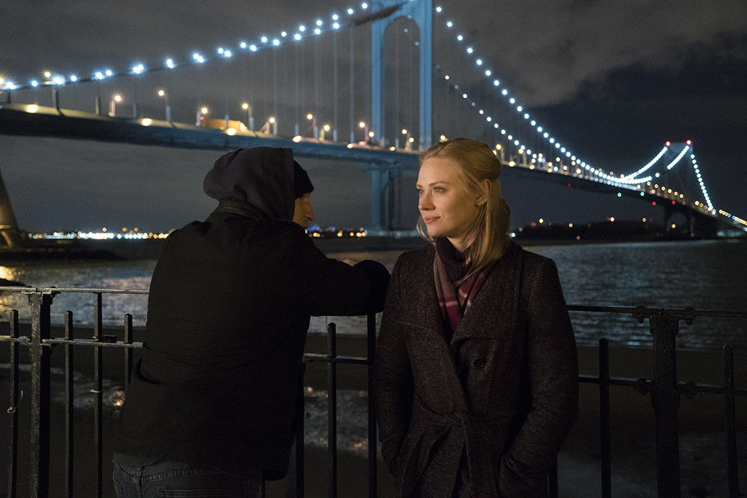 Frank Castle y Karen Page en 'The Punisher'