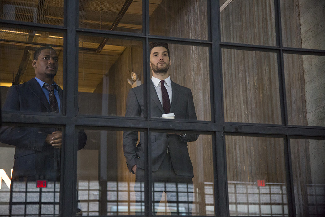 Jason R. Moore y Ben Barnes en 'The Punisher'