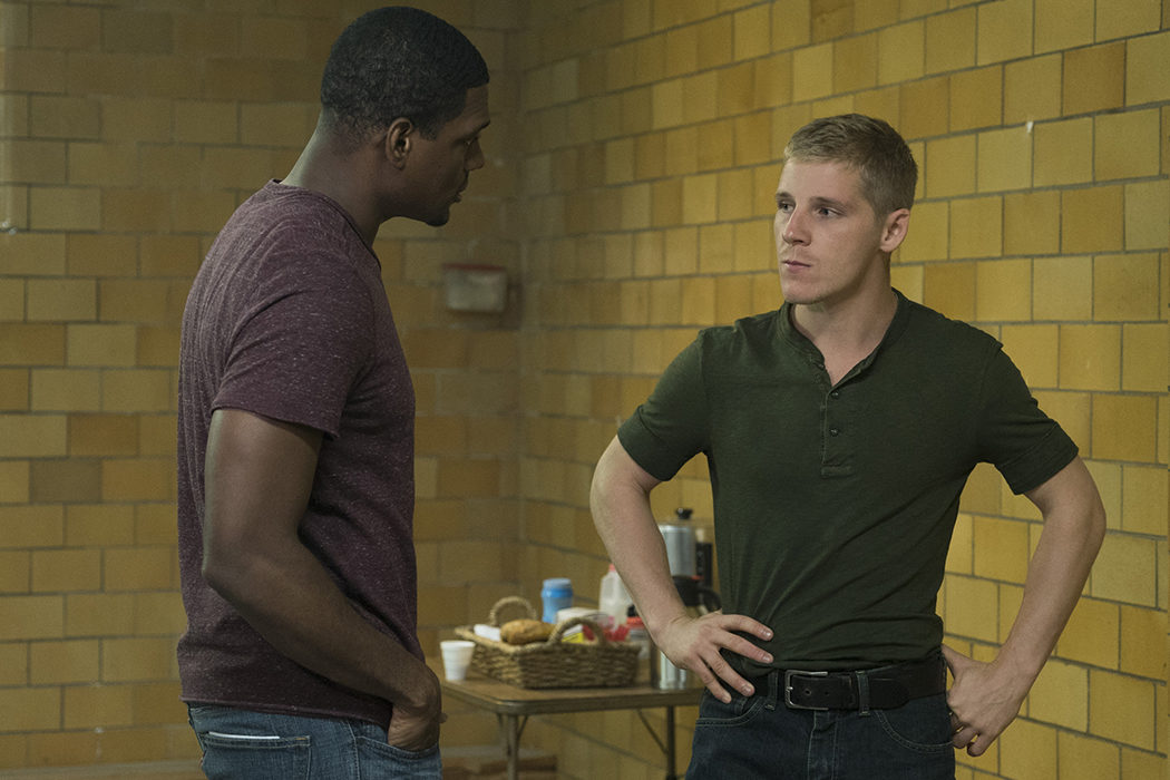 Curtis Hoyle y Lewis Walcott en 'The Punisher'