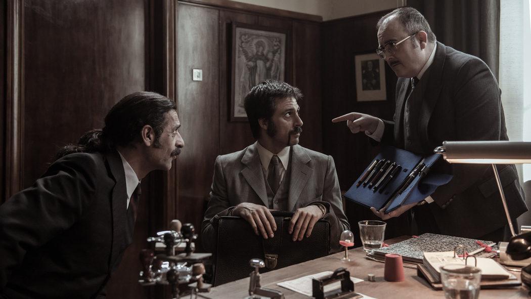 Alonso, Pacino y el nuevo personaje interpretado por Carlos Areces
