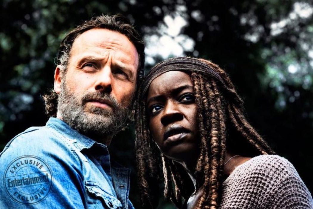 Rick y Michonne
