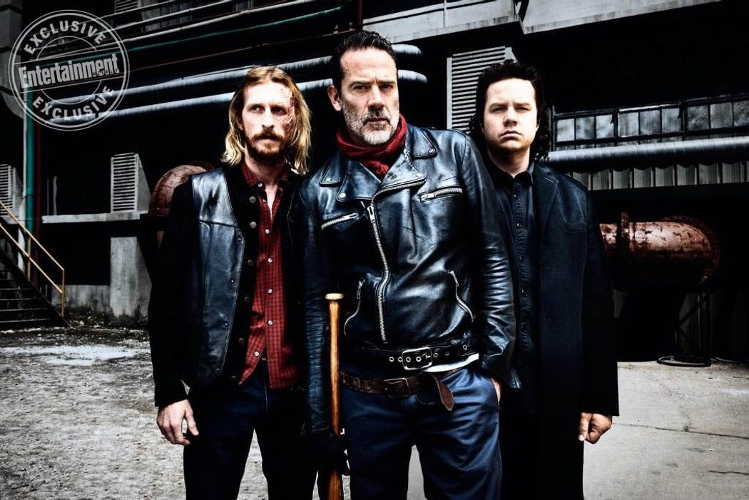 Dwight, Negan y Eugene