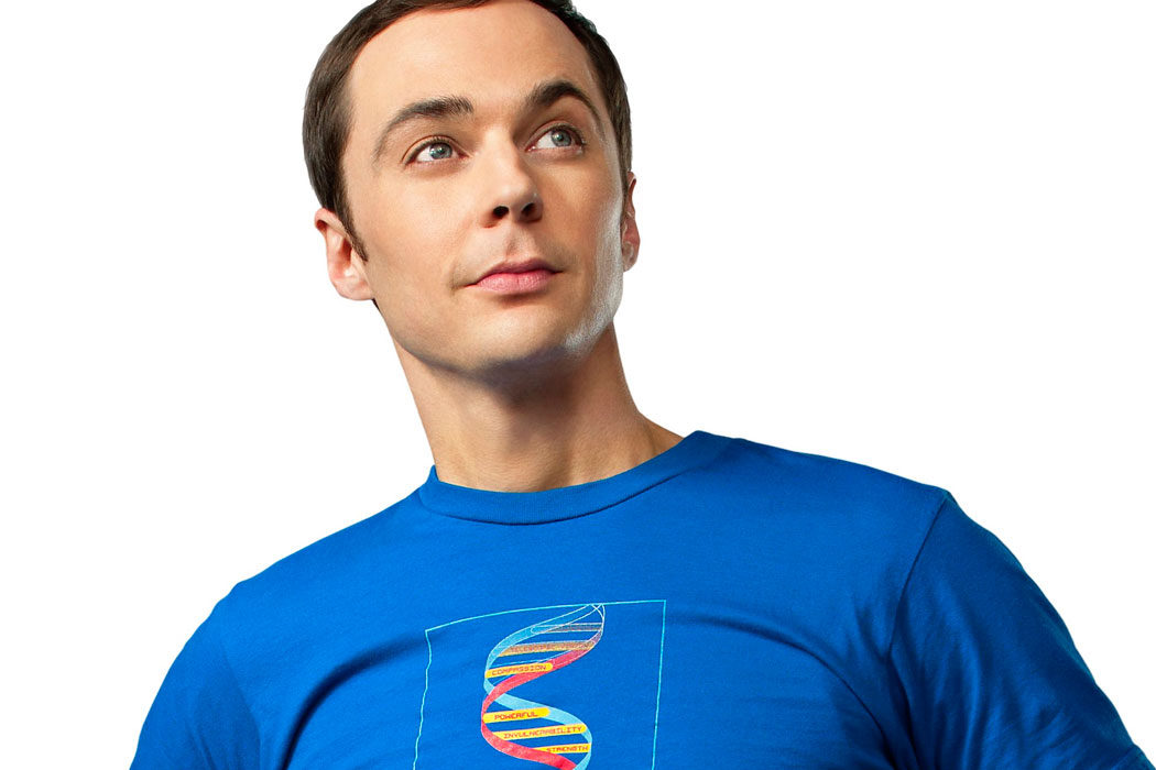 Jim Parsons es Sheldon Cooper (Adulto)
