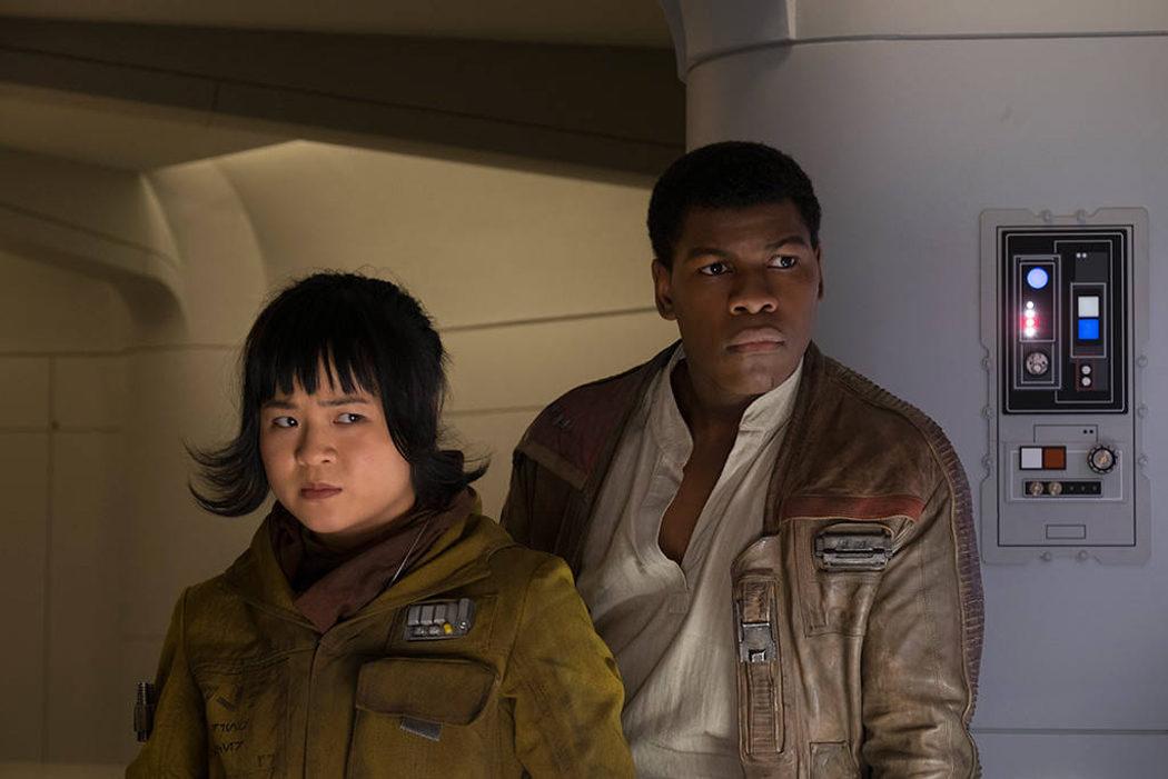 Finn y Rose, miembros de la Resistencia