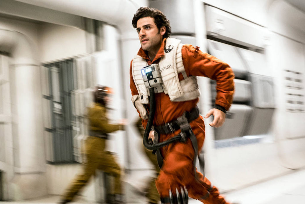 Poe corriendo