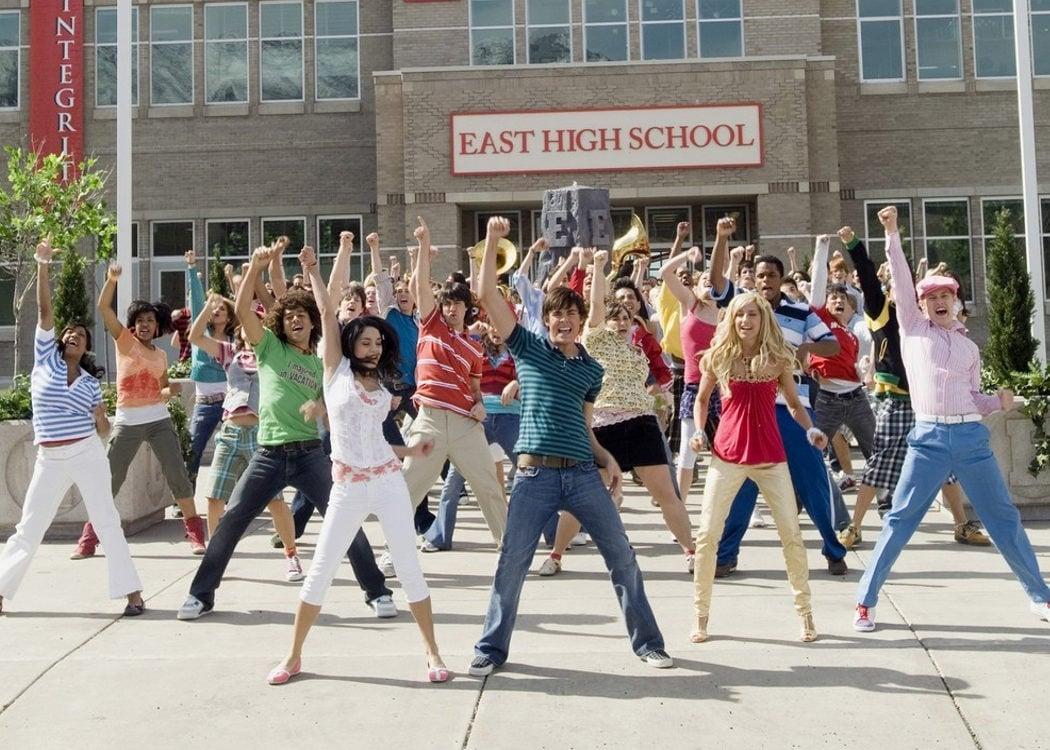 La duración del rodaje en el East High School