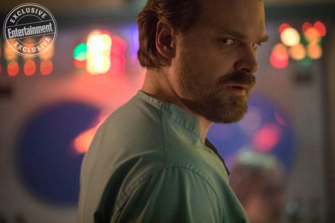 David Harbour como Jim Hopper