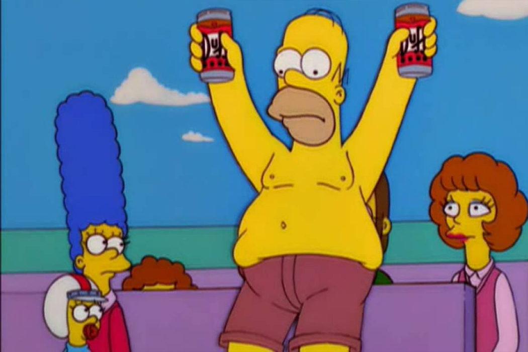 Maude Flanders en 'Los Simpson'