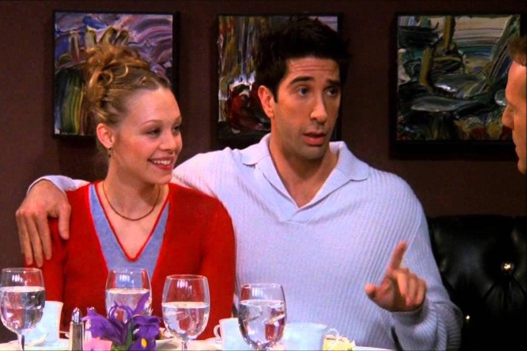 Ross y Elizabeth