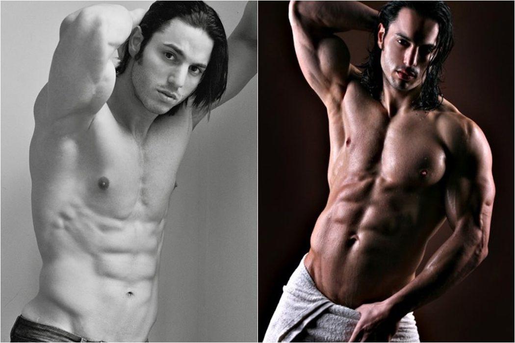 Andrei Claude muestra sus abdominales