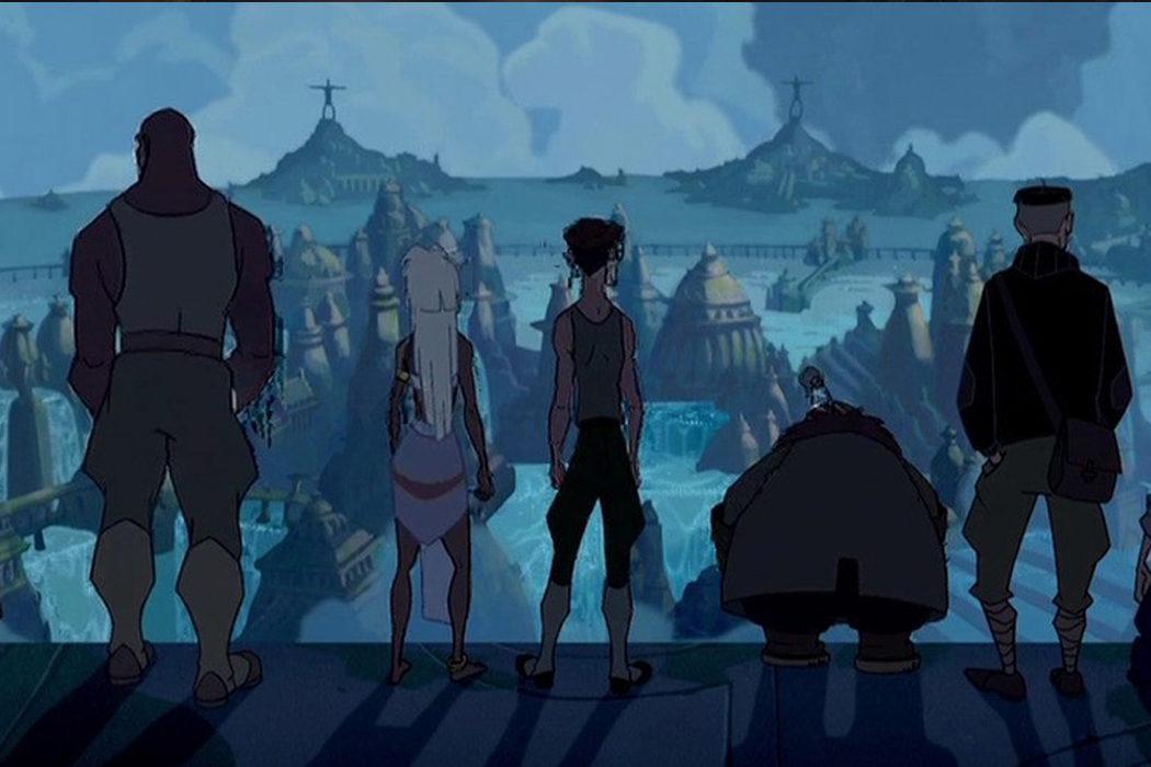 'Atlantis: El imperio perdido'