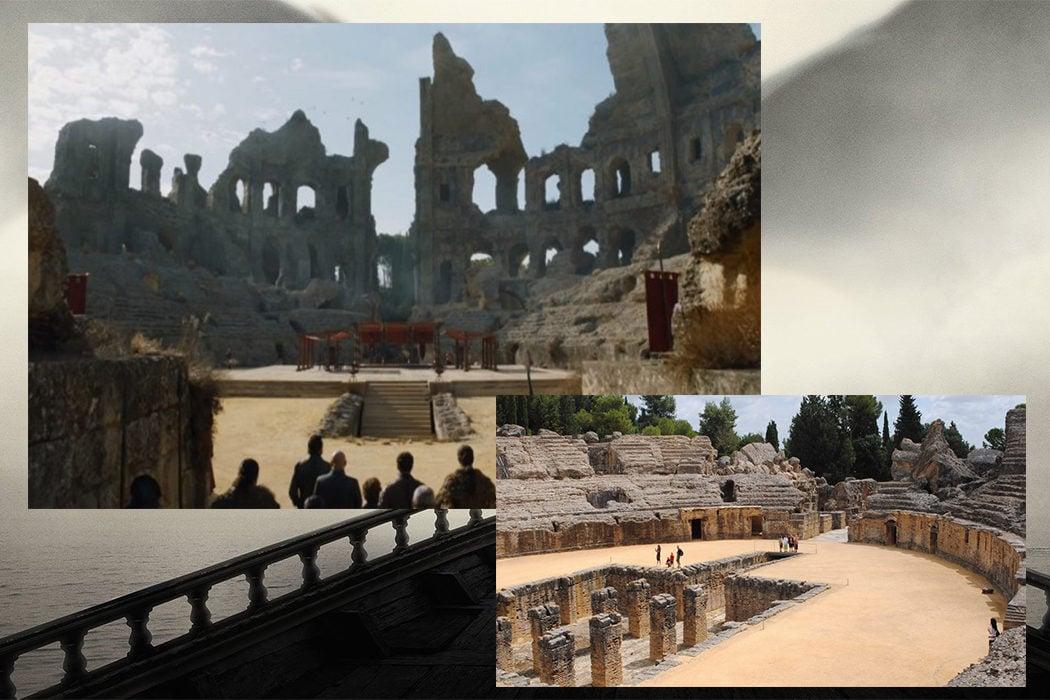 Itálica (Ruinas de Pozo Dragón) en Santiponce