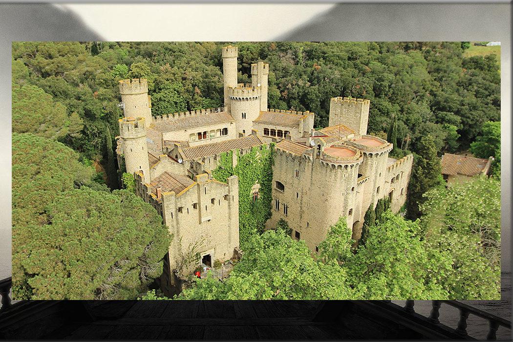 Castillo de Santa Florentina (Fortaleza de la Casa Tarly) en Canet de Mar