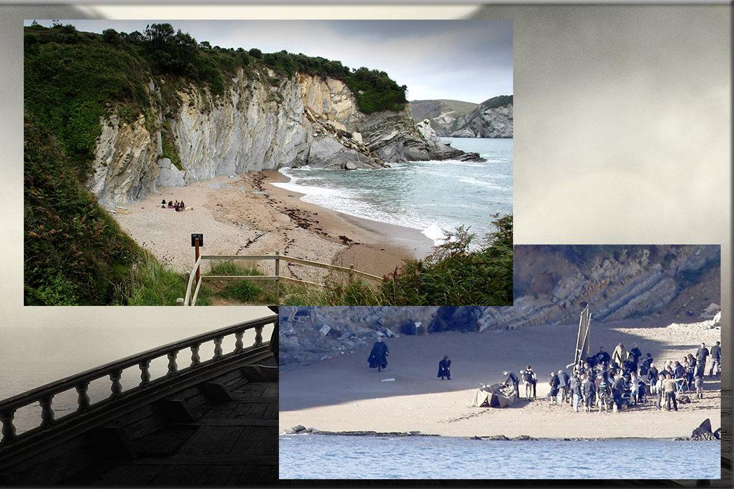 Playa de Muriola (Desembarco del Rey) en Barrika