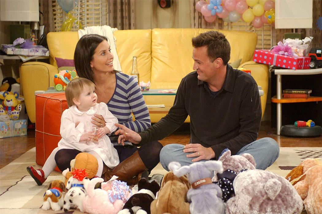Chandler y Monica