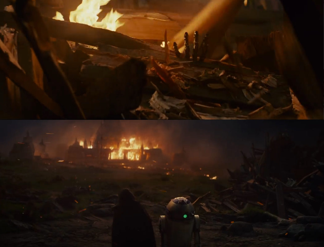 Flashback del templo Jedi