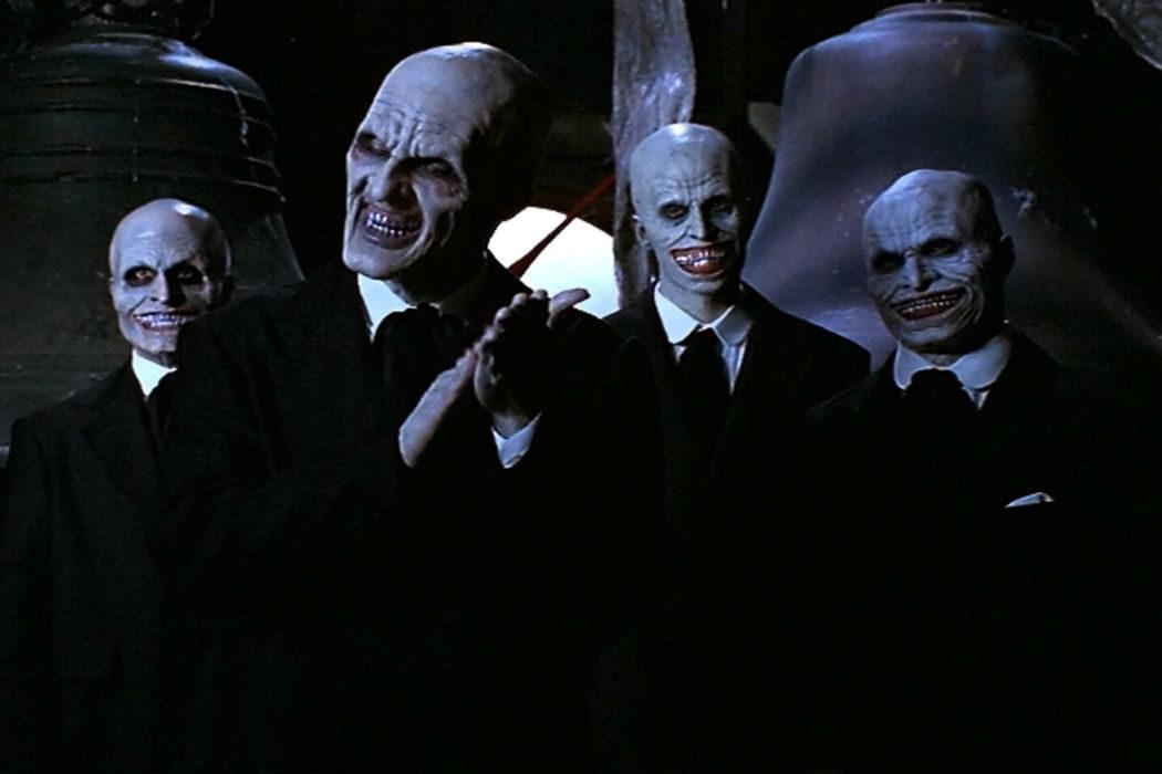 """Caballeros"" de pesadilla"