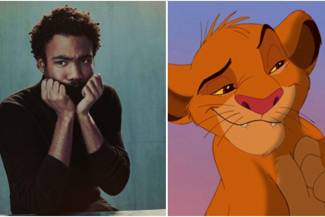 Donald Glover será el Rey León