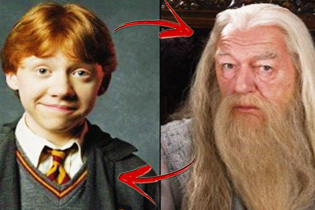 Ron es Dumbledore