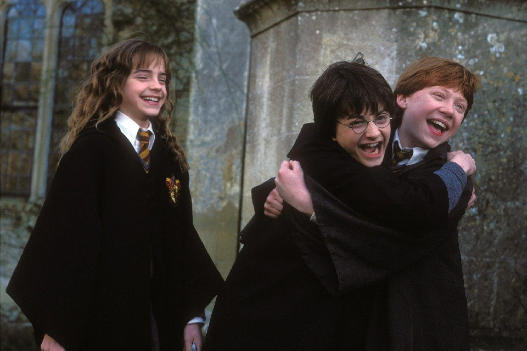 Harry, Hermione y Ron no se graduaron
