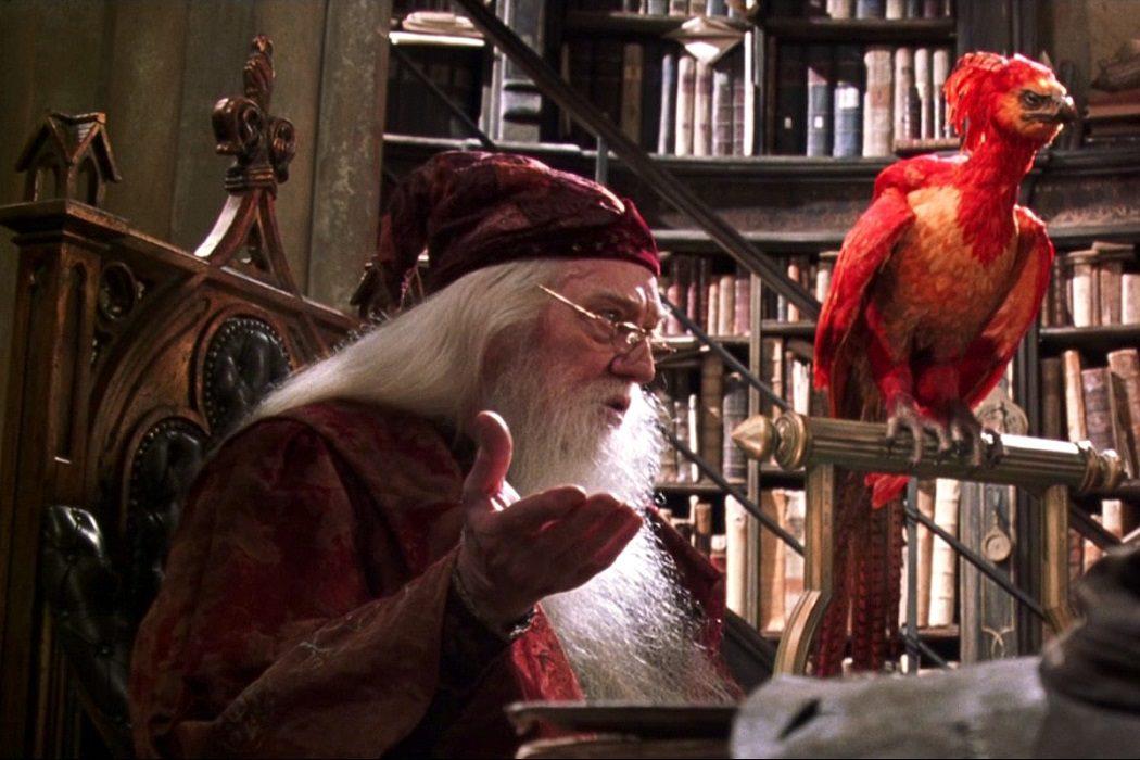 Fawkes es un horrocrux de Dumbledore