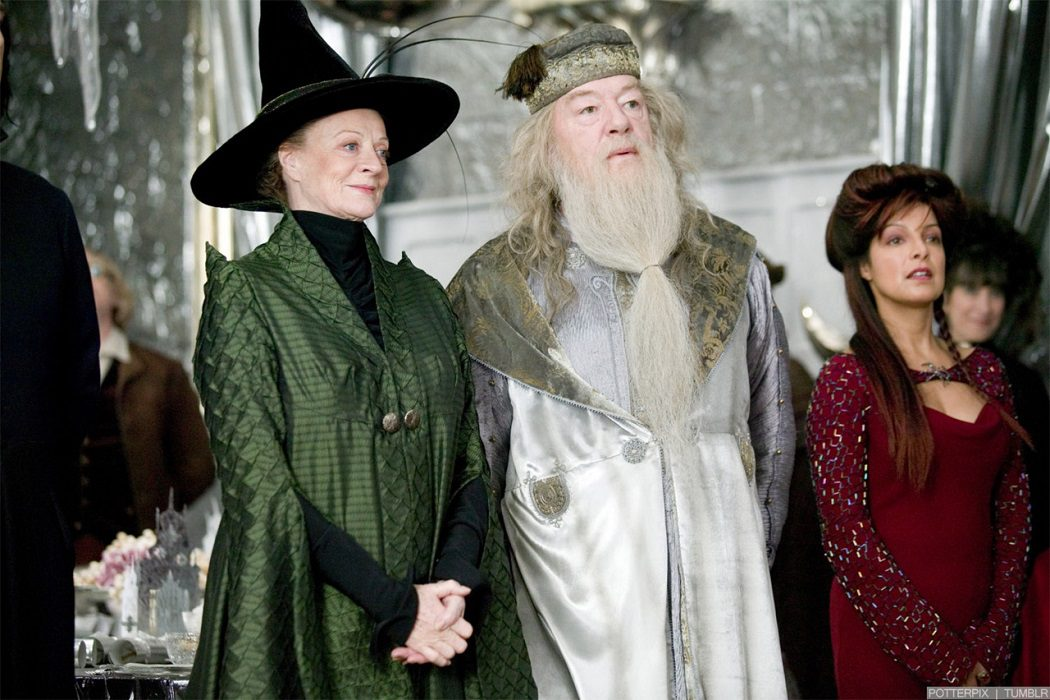 Dumbledore and McGonagall are in love