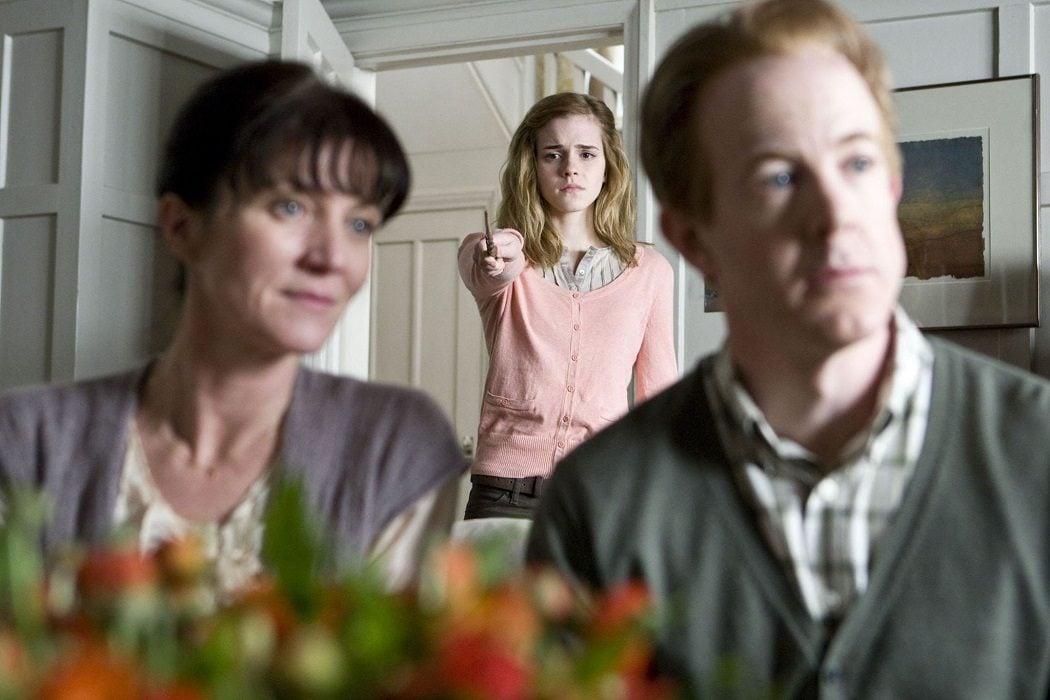 Los padres de Hermione no la recuerdan
