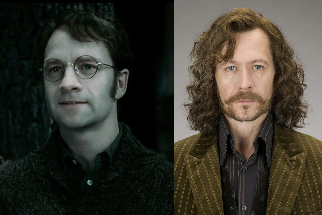 James y Sirius son familia