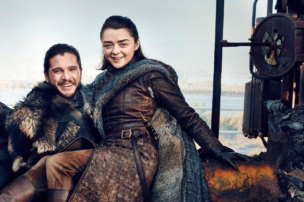 Arya y Jon
