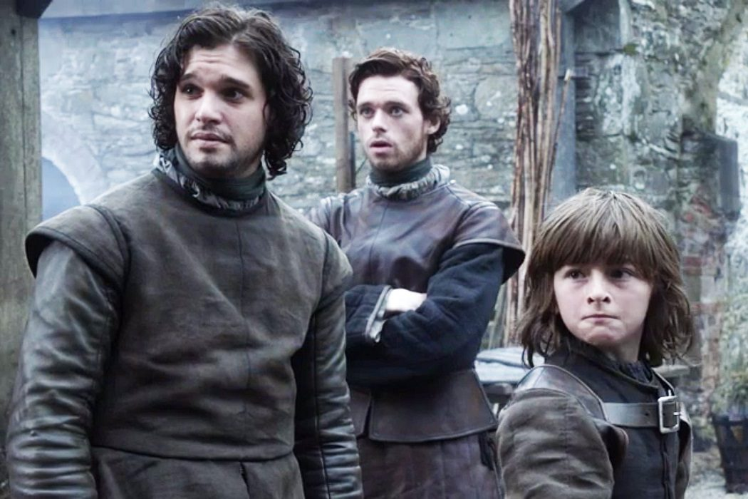Jon y Bran