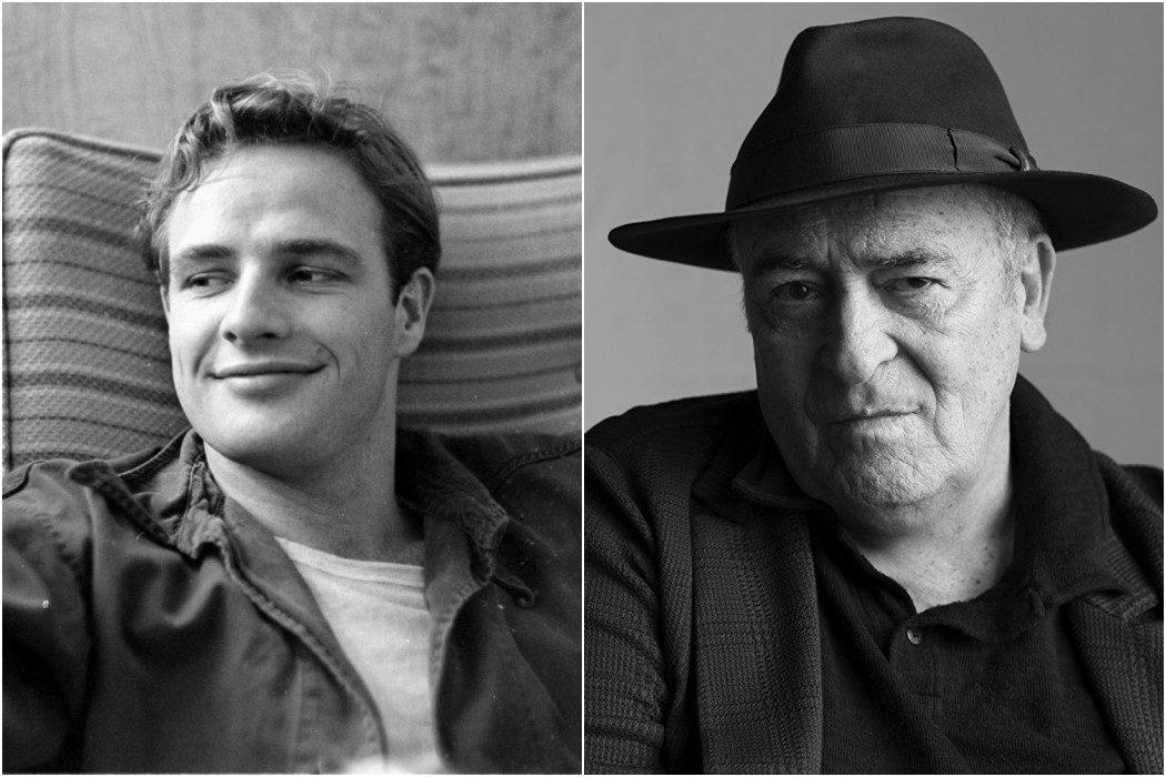 Marlon Brando y Bernardo Bertolucci