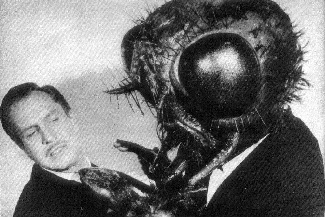 François Delambre en 'La mosca'