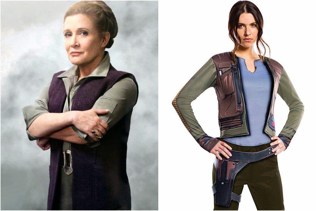 Jyn Erso o la General Organa de 'Star Wars'