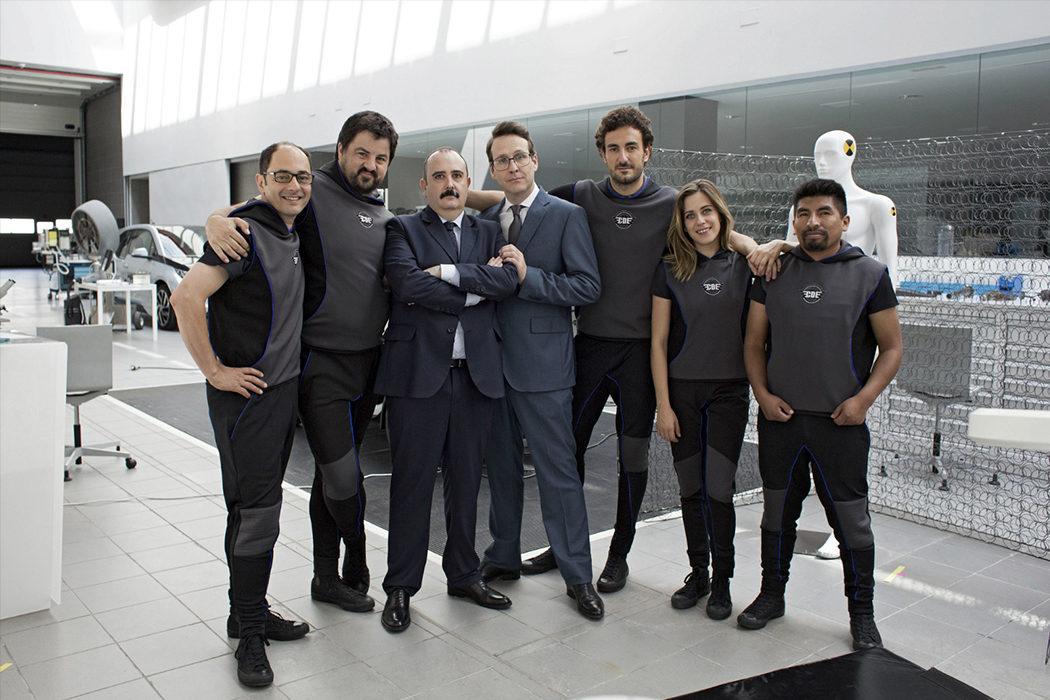 Joaquín Reyes en 'Cuerpo de élite'