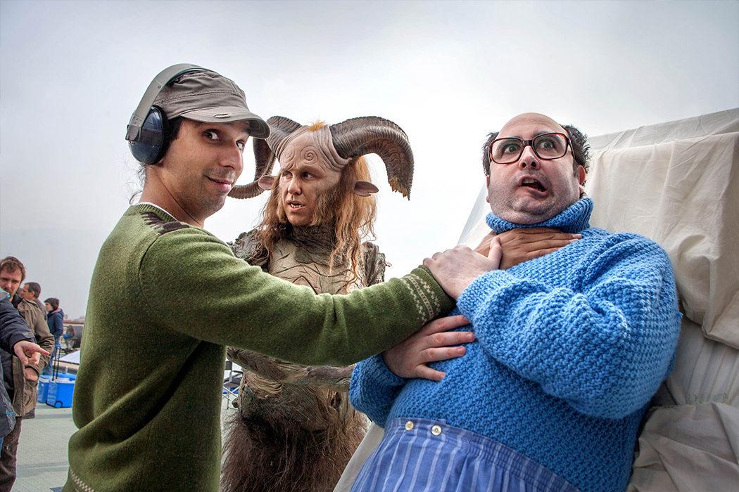 Carlos Areces en 'Spanish Movie'