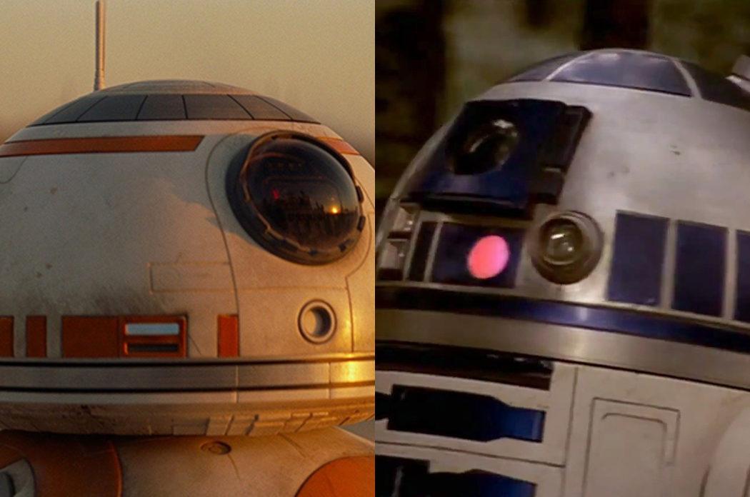 BB-8 y R2-D2