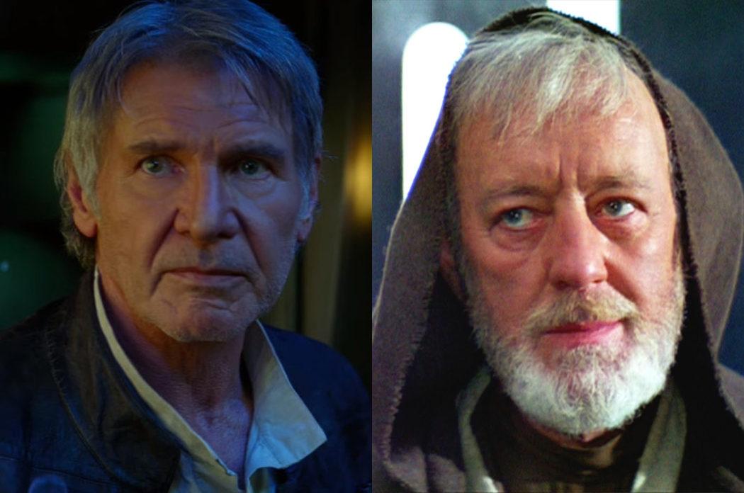 Muerte de Han Solo y Obi-Wan Kenobi