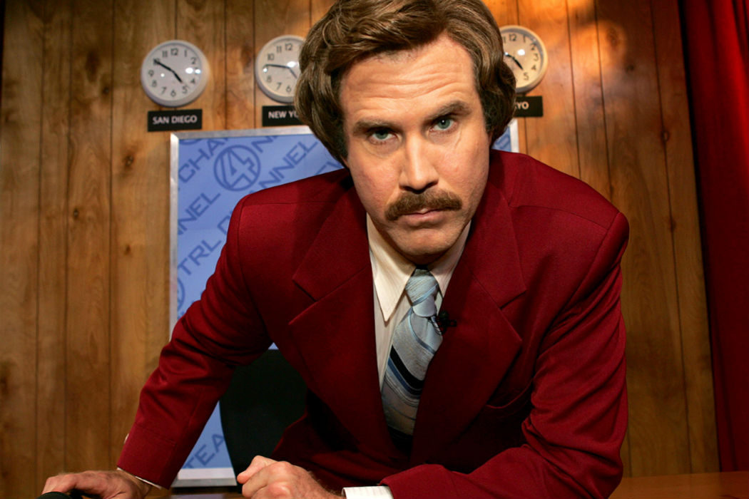 Will Ferrell ('El reportero: La leyenda de Ron Burgundy')