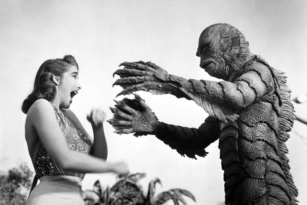 'La mujer y el monstruo'