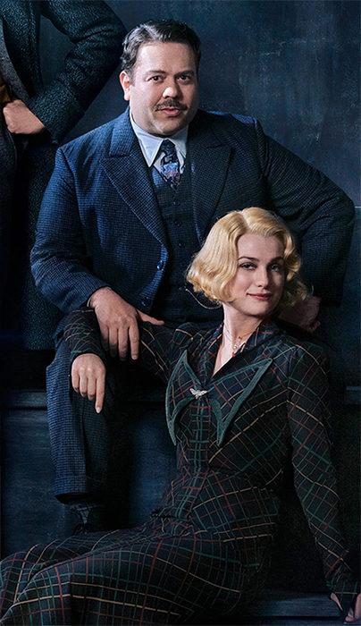 Dan Fogler como Jacob Kowalski y Alison Sudol como Queenie Goldstein