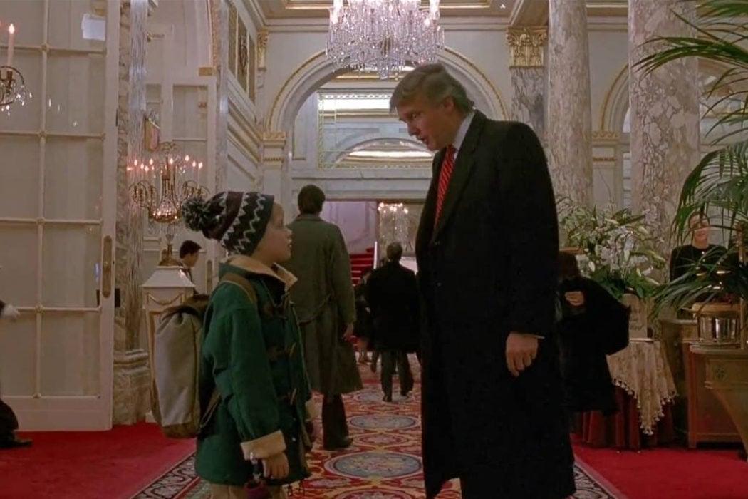 El cameo de Donald Trump