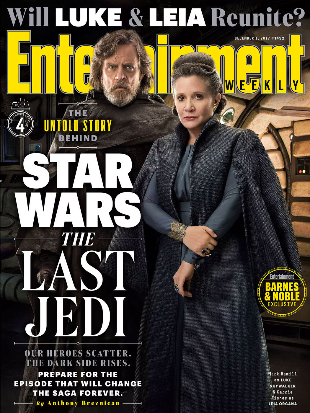 Portada Nº4 - Luke Skywalker y Leia