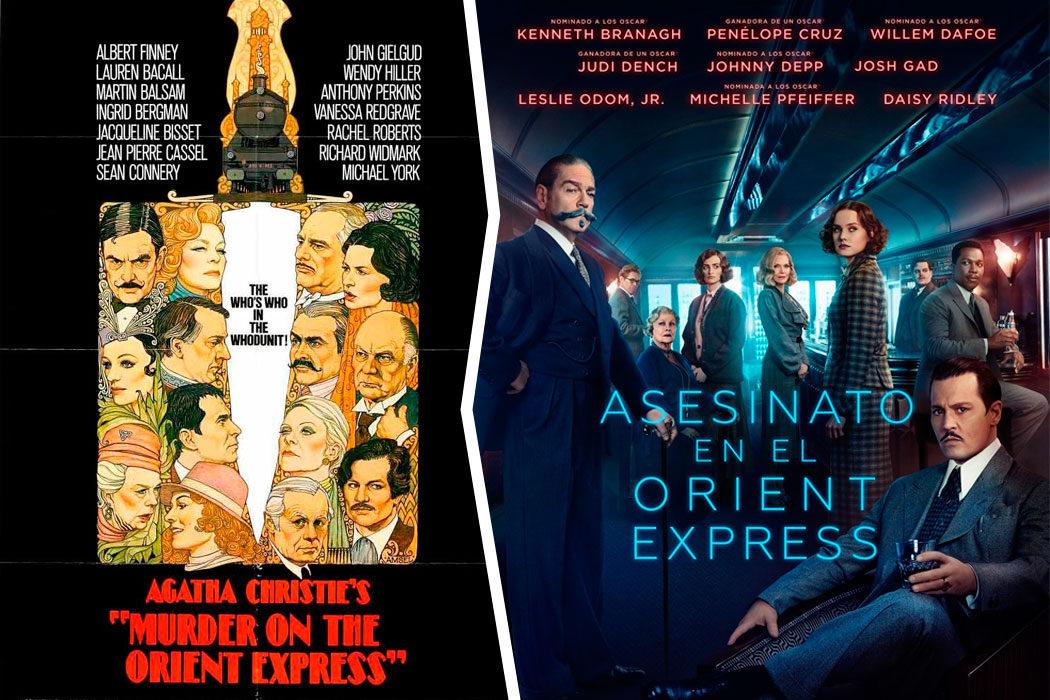 Asesinato en el Orient Express (1974) y (2017)