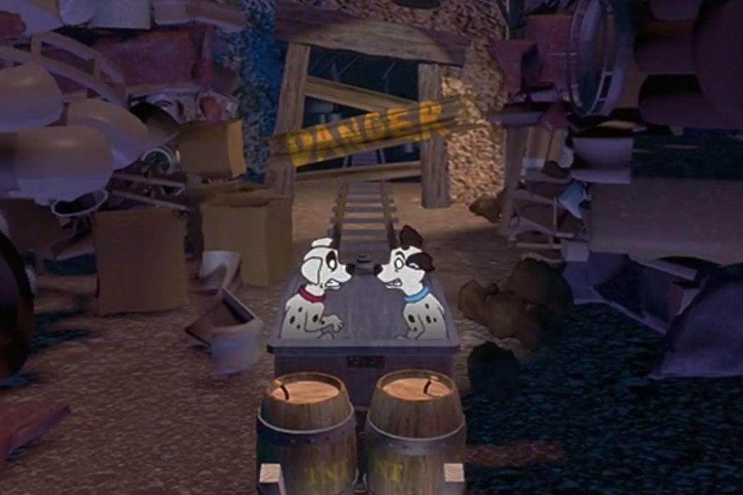 El videojuego final de la película acabó comercializándose