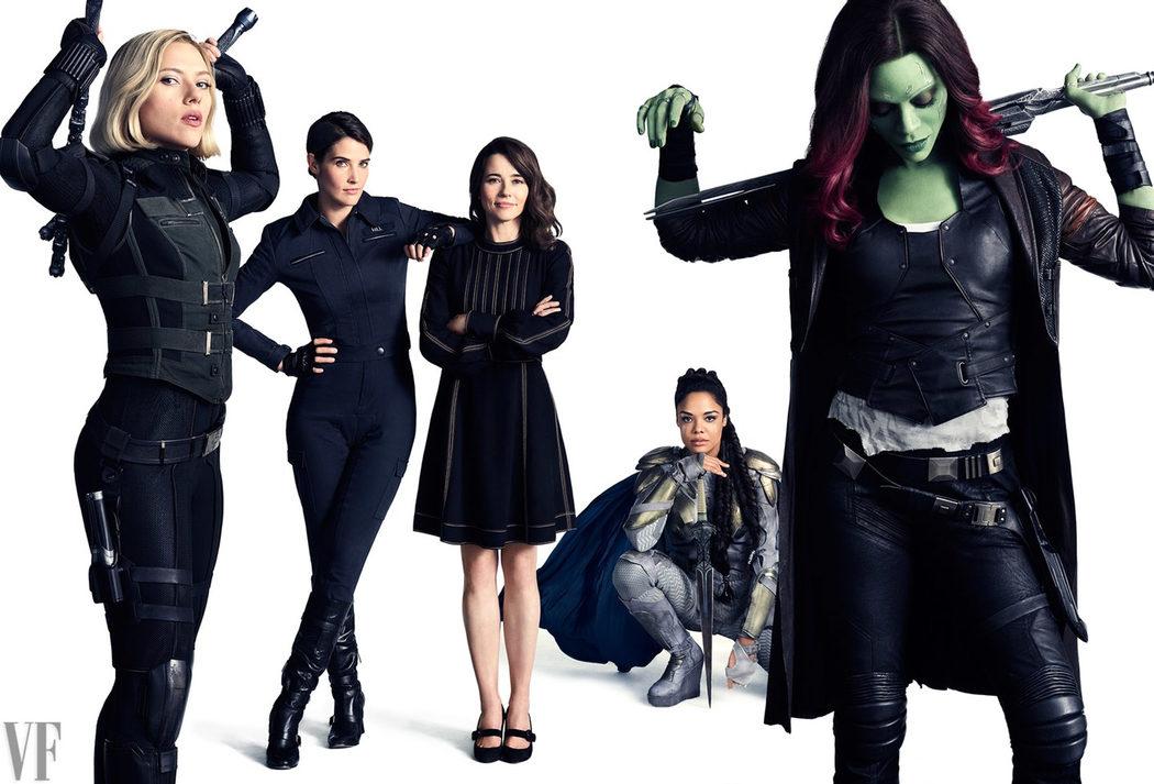 Las mujeres de Marvel al poder