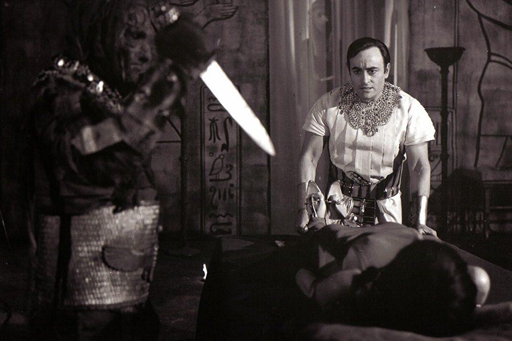 Amenhotep en 'La venganza de la momia'