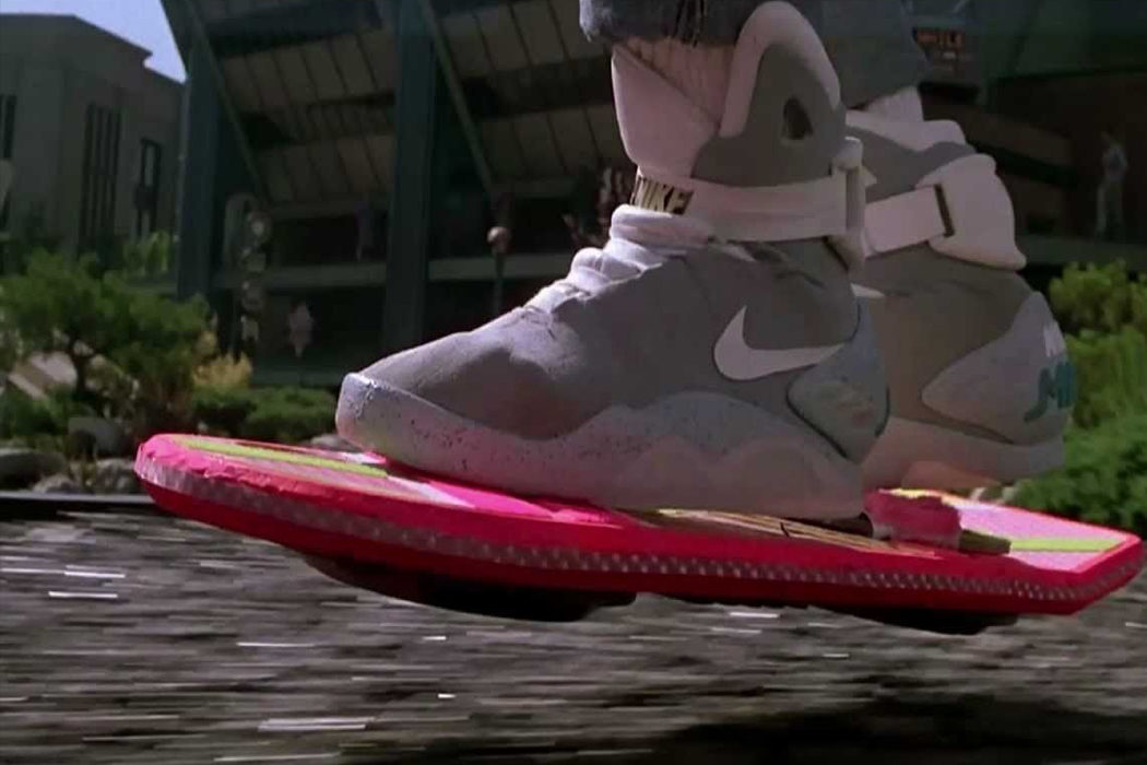 Regreso al futuro - Delorean, Nike y Pepsi